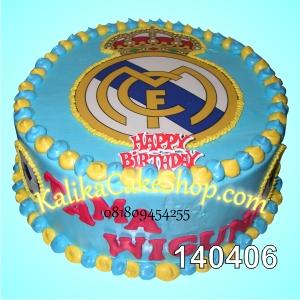 Kue Ulang Tahun Real Madrid