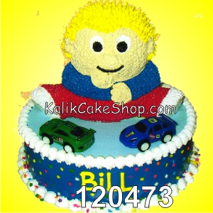 Kue Ulang tahun Boneka Billy