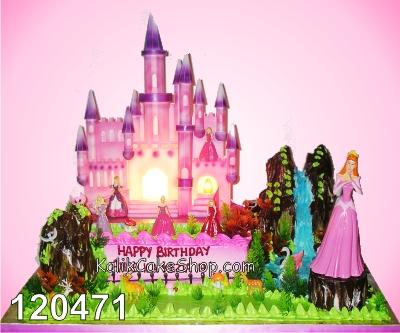 Kue Ulang tahun Istana 50x70