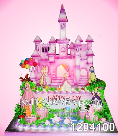 Kue Ulang tahun istana 20x30