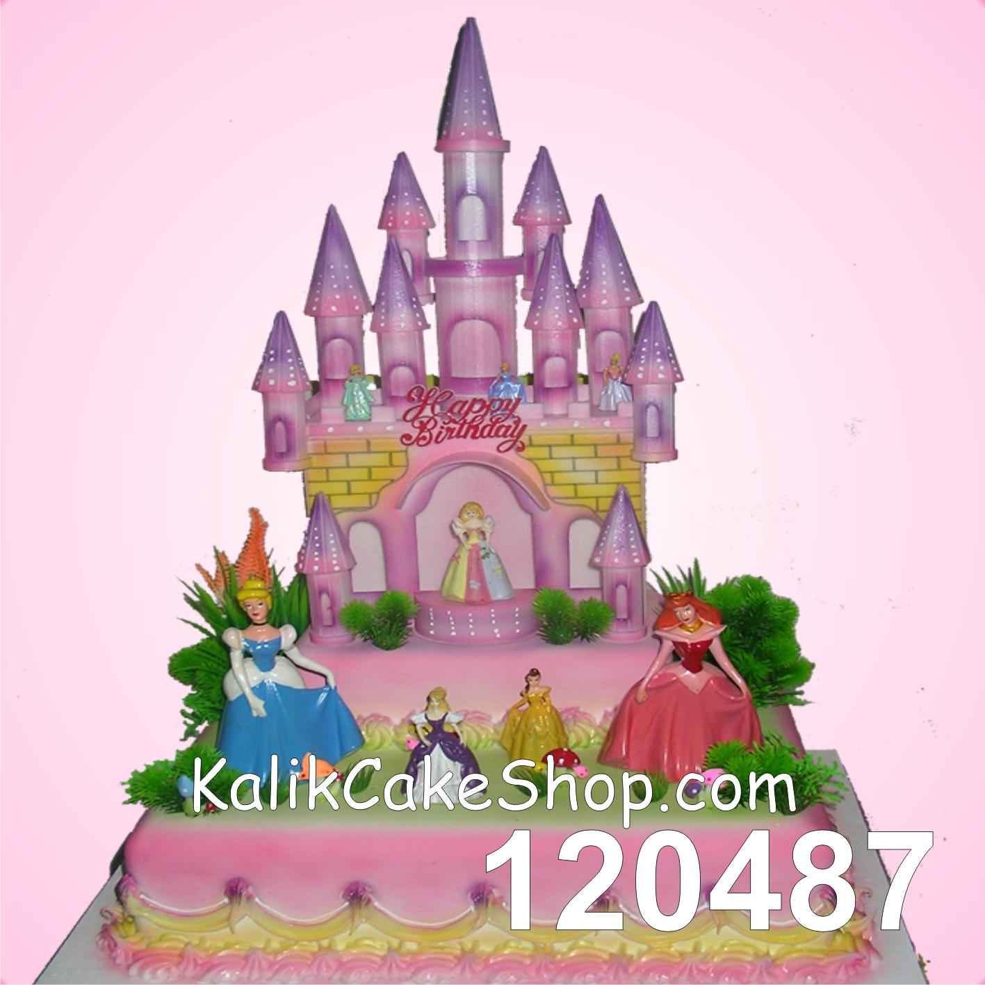 Kue Ulang tahun istana 30x30