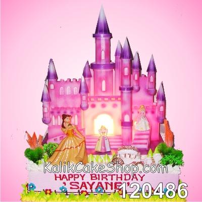 Kue Ulang tahun istana 30x40