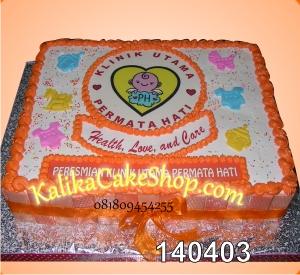 Photo Cake Klinik permata hati