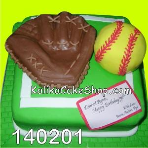 Sofball Cake Ulang Tahun
