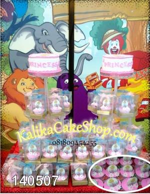 Kue Ulang Tahun Cup Cake Princes