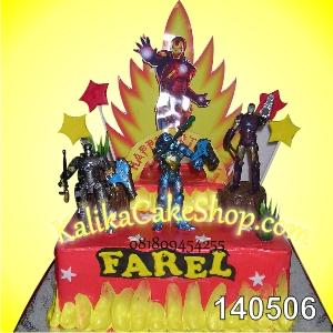 Kue Ulang Tahun Ironman