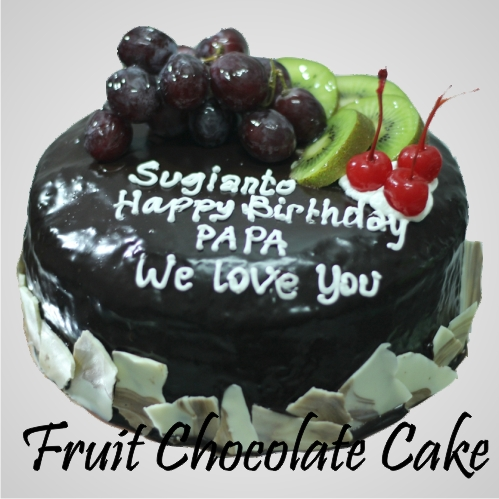Fruit Coklat Cake Kue Ulang Tahun bandung