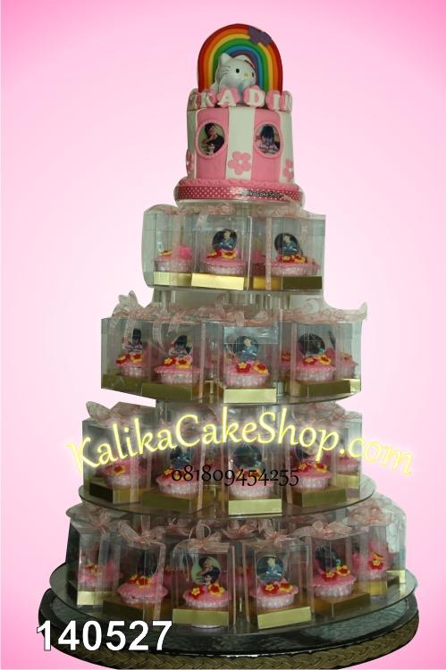 Hello Kitty Cup Cake 50pcs