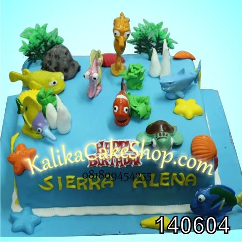 Kue Ulang Tahun Finding Nemo