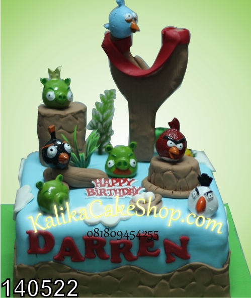kue ulang tahun angry bird daren
