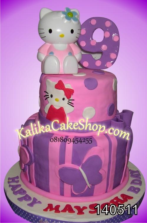 kue ulang tahun hello kitty marshya