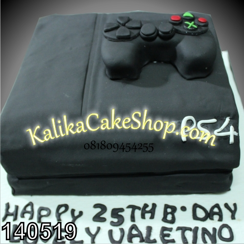 kue ulang tahun playstation velentino