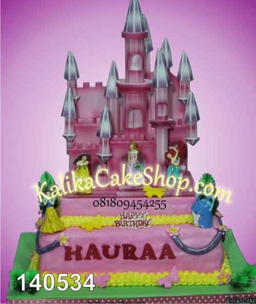 kue ulang tahun princess haura