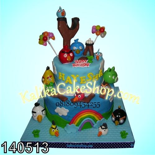 kue ulangtahun angry bird hayesha