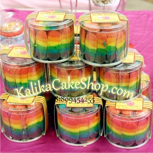 rainbow lidah kucing kecil