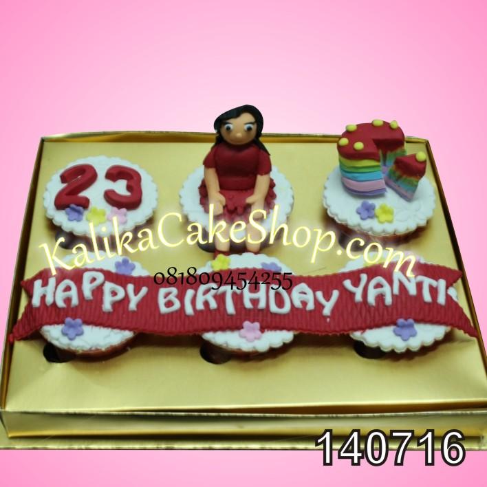 Cup Cake Set 6 yanti