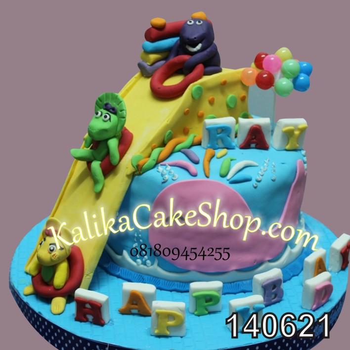 Kue Ulang Tahun Barney Ray