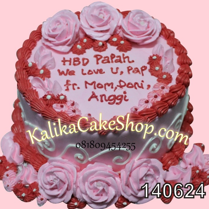 Kue Ulang Tahun Flower
