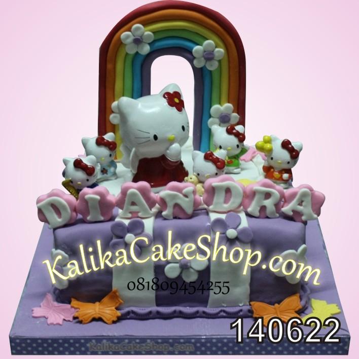 Kue Ulang Tahun Hello Kitty Diandra