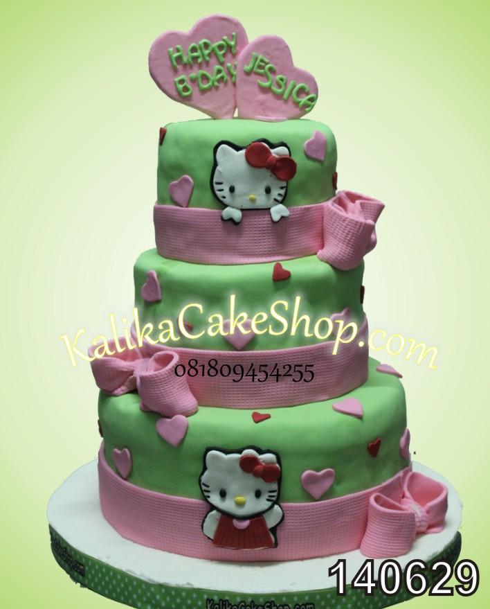 Kue Ulang Tahun Hello Kitty Jessica