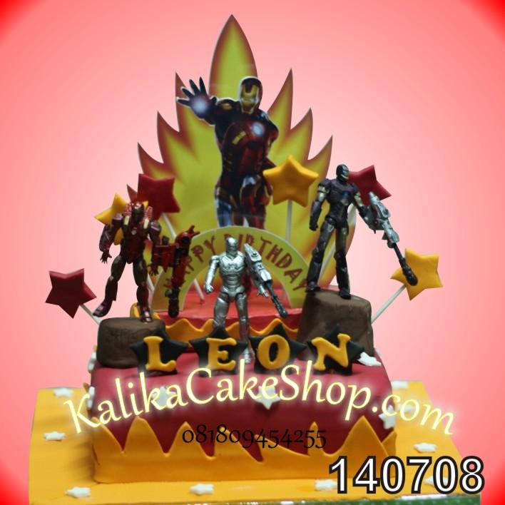 Kue Ulang Tahun Iron Man Leon