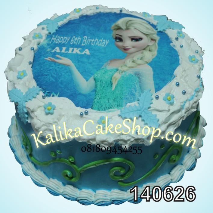 Kue Ulang Tahun Photo Elza Frozen Kue Ulang Tahun bandung