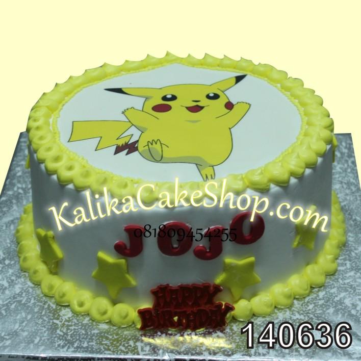 Kue Ulang Tahun Photo Pokemon