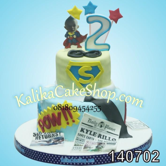 Kue Ulang Tahun Superman Kyle