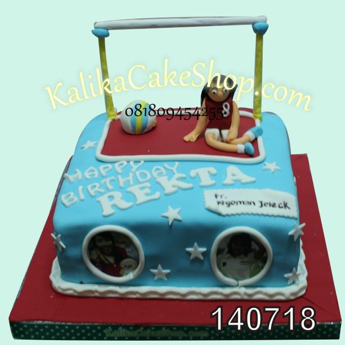 Kue Ulang Tahun Volley Rekta