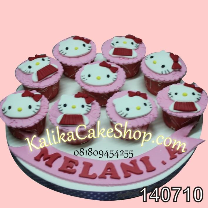 Kue Ulang Tahun set 9 Hello Kitty