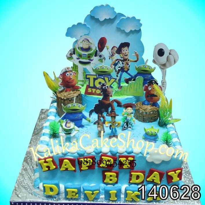 Kue Ulang tahun Toy Story Devika