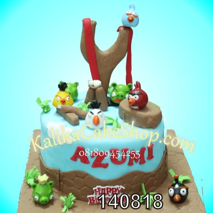 Anggry Bird Cake Azumi