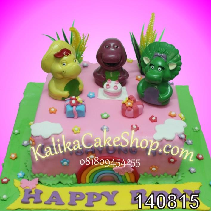Barney Cake lembayung