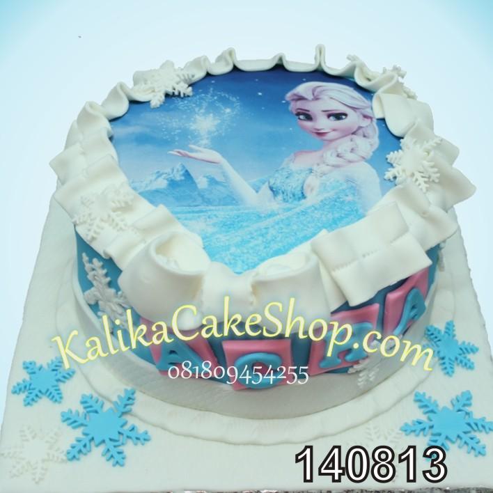 Edible Cake Images Elsa : Edible Photo elsa cake Kue Ulang Tahun bandung