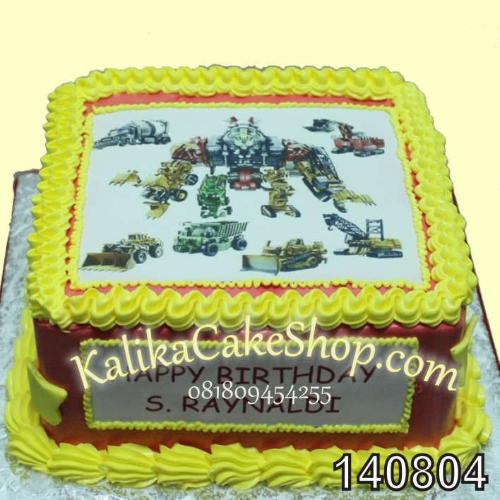 Edible Transformer cake