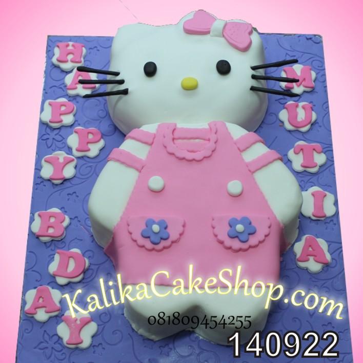 Hello Kitty Cake 2D Mutia