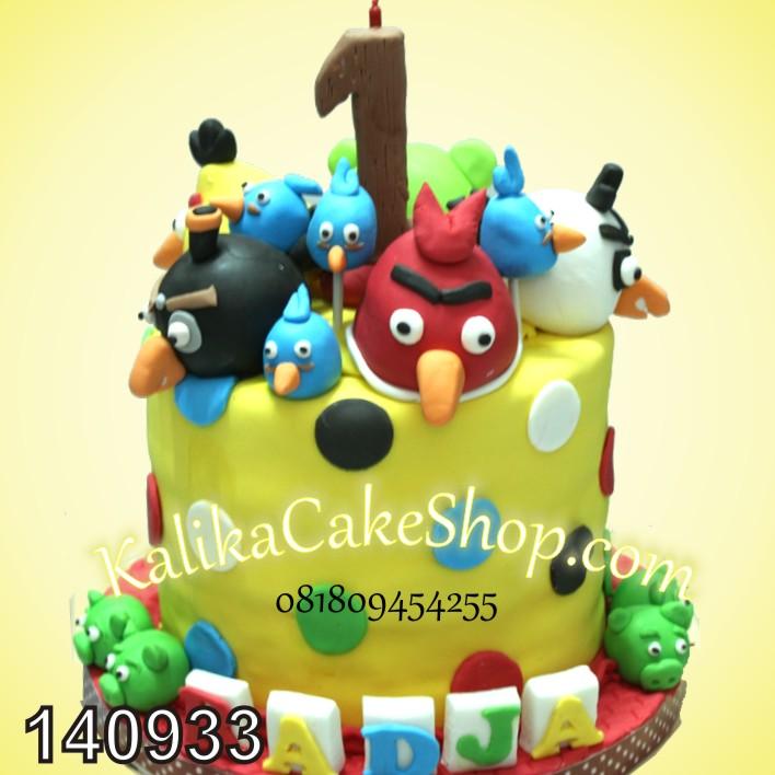 Kue Ulang Tahun Angry Bird Radja