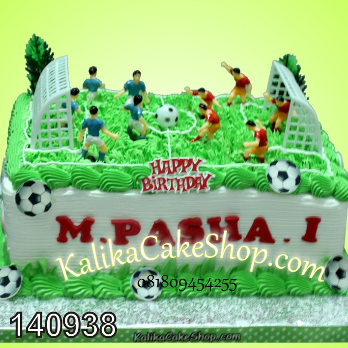 Kue Ulang Tahun Bola Pasha