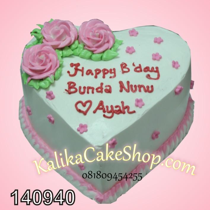Kue Ulang Tahun Floral Nunu