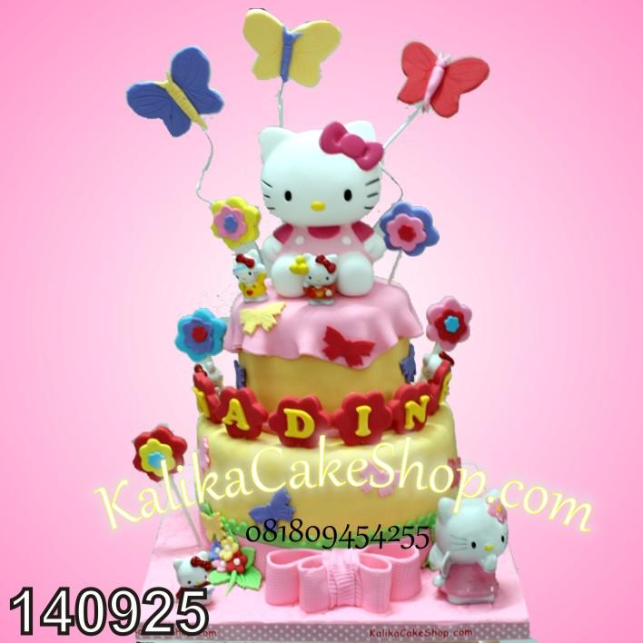 Kue Ulang Tahun Hello Kitty Nadine