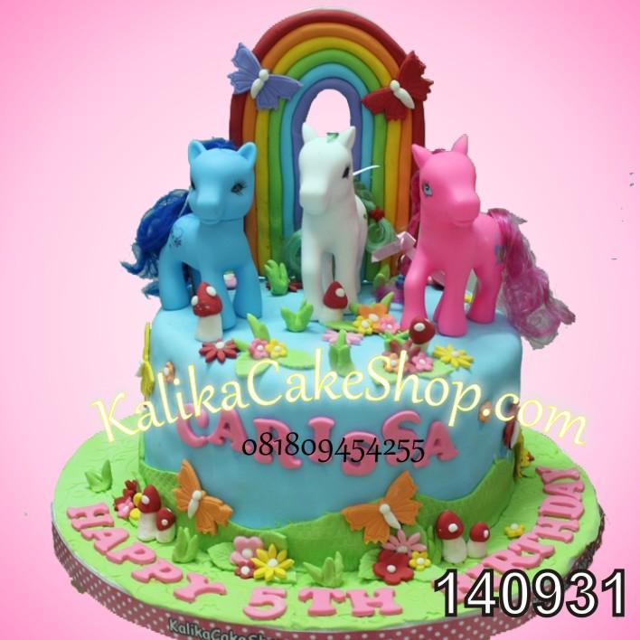 Kue Ulang Tahun Little Pony Carissa