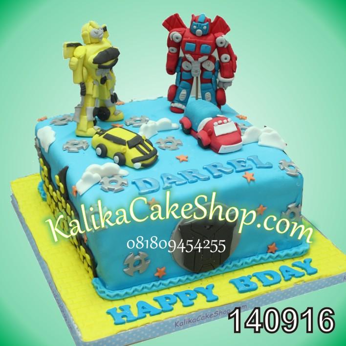 Kue Ulang Tahun Transformer Darrel