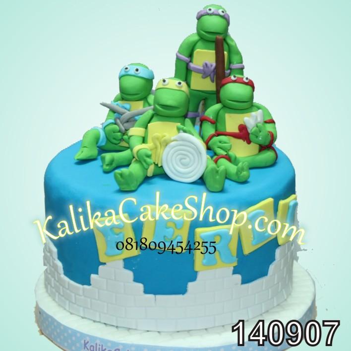 Ninja turtle Cake Ferli