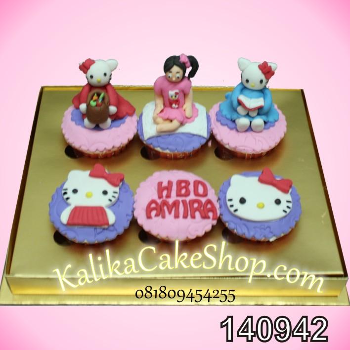 Cup Cakes 6 pcs Hello Kitty Amira