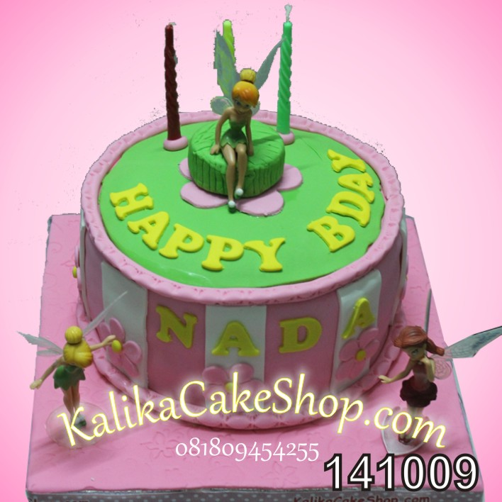 Kue Ualng Tahun Tinker Bell Nada