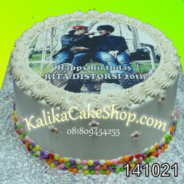 Kue Ulang Tahun Edible Photo