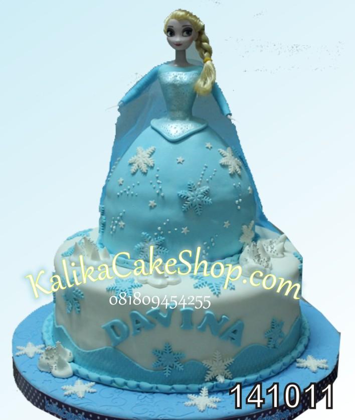Kue Ulang Tahun Frozen Davina