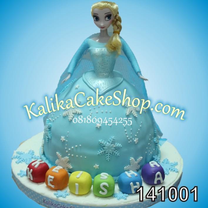 Kue Ulang Tahun Frozen Elsa Keisha