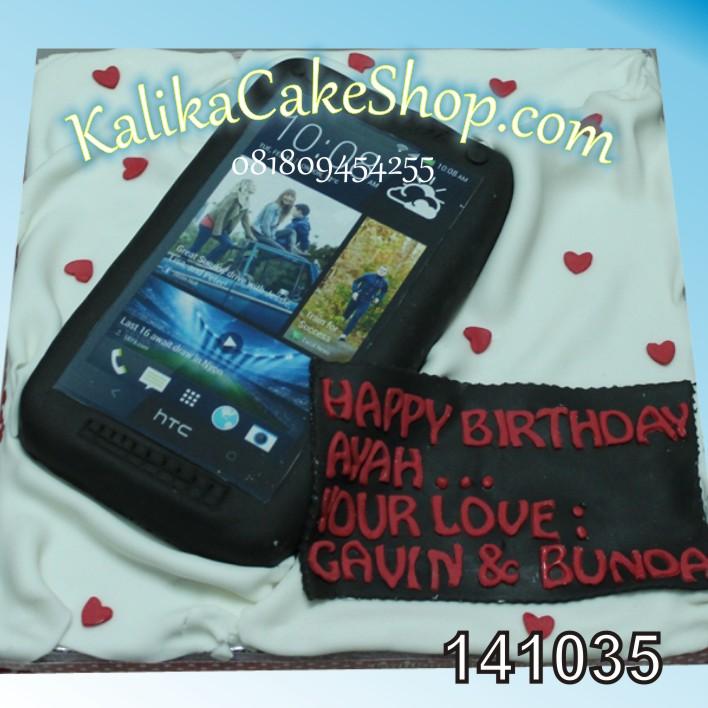 Kue Ulang Tahun Gadget HTC Ayah