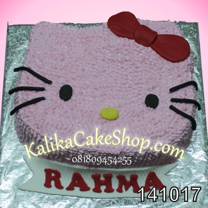 Kue Ulang Tahun Hello Kitty Rahma